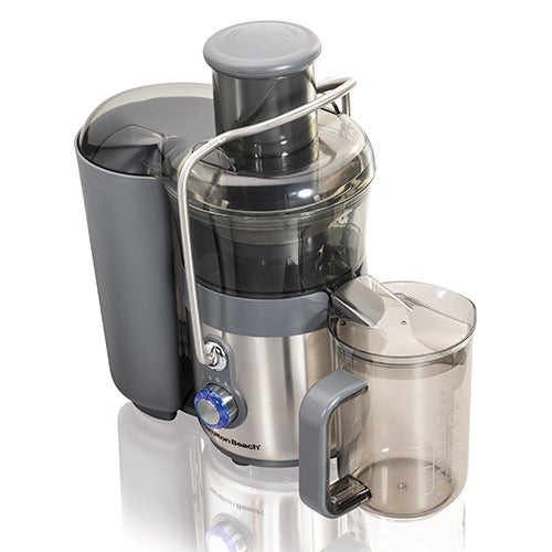 Easy Clean Big Mouth 2-Speed Premium Juice Extractor Stnlss