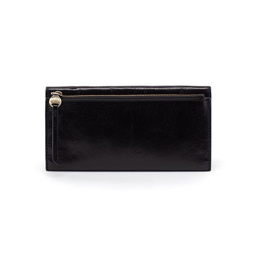 Arise Continental Trifold Wallet Black