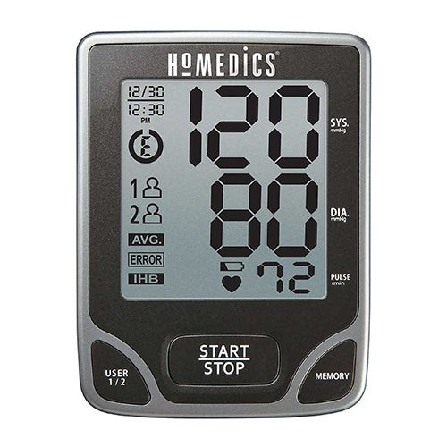 Deluxe Arm Blood Pressure Monitor w/Smart Measure Technology