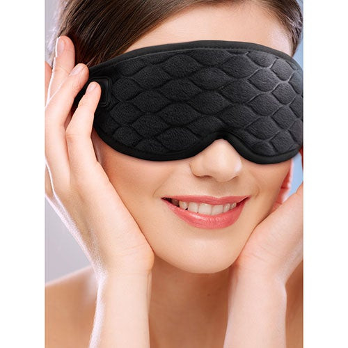 Heated Gel Eye Mask w/ Cold Therapy