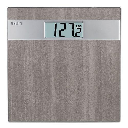 Gray Stone Digital Bathroom Scale