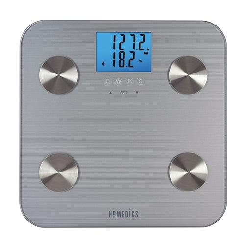 HealthStation Body Fat Bathroom Scale Silver