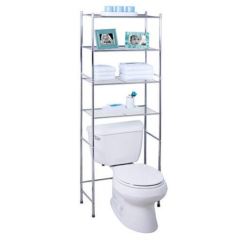 4-Tier Over-the-Toilet Bathroom Shelf