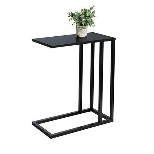C End Table Black