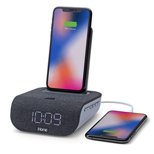 Timebase Dual Charging Bluetooth Alarm Clock