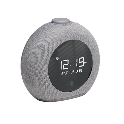 Horizon 2 FM Bluetooth Clock Radio Speaker Gray