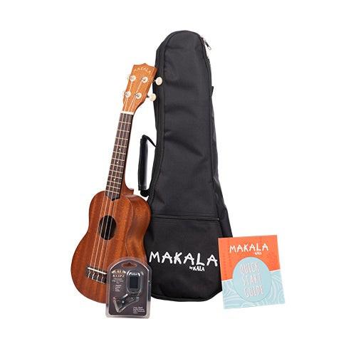 Makala Soprano Ukulele Pack w/ Bag Tuner & Instruction Pamphlet