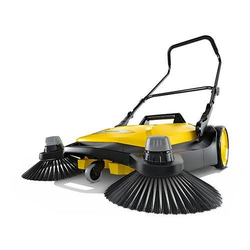 S 6 Twin Push Sweeper 10 Gallon