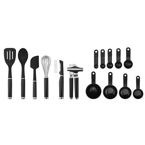 Classic 15pc Kitchen Tool & Gadget Set Black