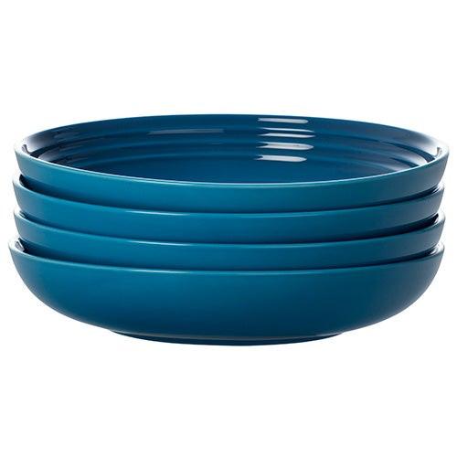 "4pc 8.5"" Pasta Bowl Set Marseille"