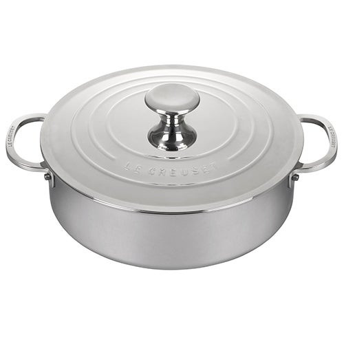 4.5qt Stainless Steel Rondeau Pan