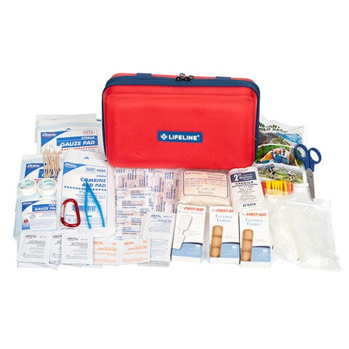 121pc Deluxe Hard Shell First Aid Kit