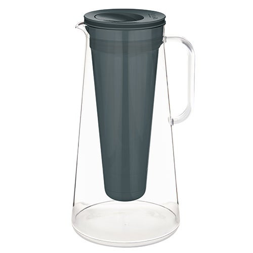 LifeStraw Home 10 Cup Plastic Water Filter Pitcher Charcoal