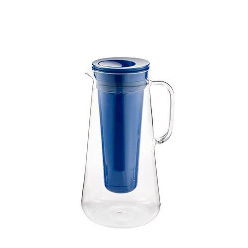 LifeStraw Home 7 Cup Glass Water Filter Pitcher Cobalt