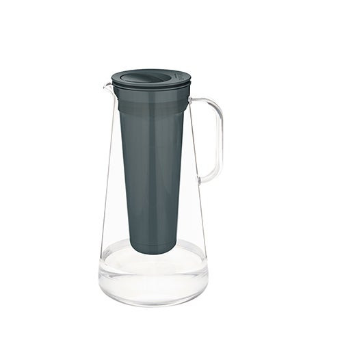 LifeStraw Home 7 Cup Plastic Water Filter Pitcher Gray