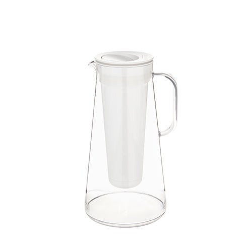 LifeStraw Home 7 Cup Plastic Water Filter Pitcher White