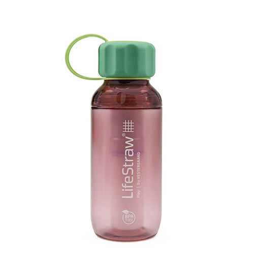 LifeStraw Play Water Bottle w/ Lead Reduction Wildberry