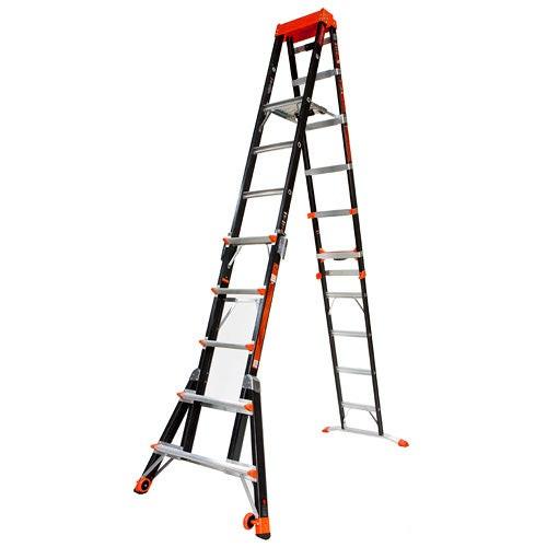 Select Step 6-10ft Fiberglass Adjustable Stepladder