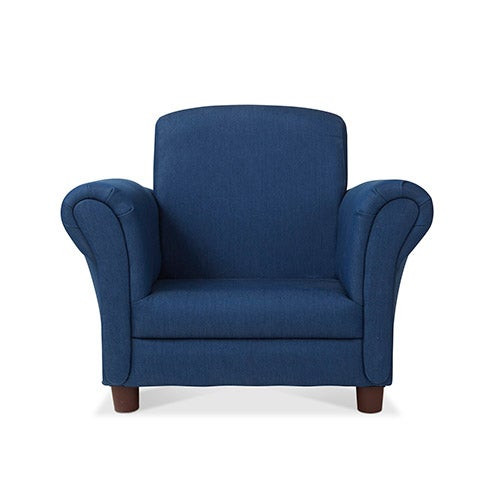 Child's Armchair, Denim - Ages 3+ Years
