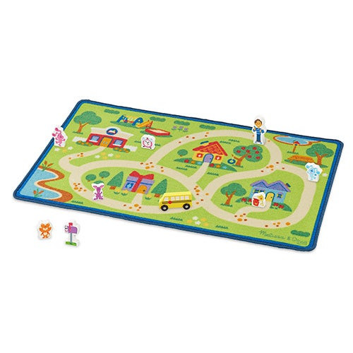 Blues Clues & You! Blue's Neighborhood Activity Rug, Ages 3+ Years