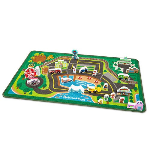 Paw Patrol Activity Rug - Adventure Bay Ages 3+ Years
