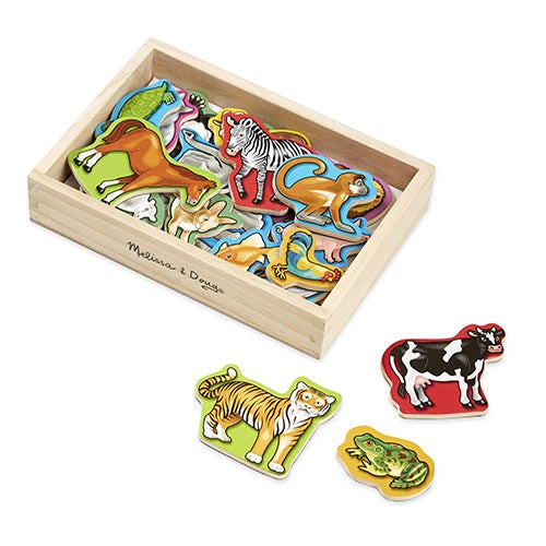 Wooden Animal Magnets Ages 2+ Years