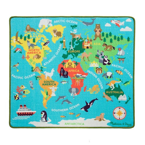 Round the World Travel Rug Ages 3+ Years