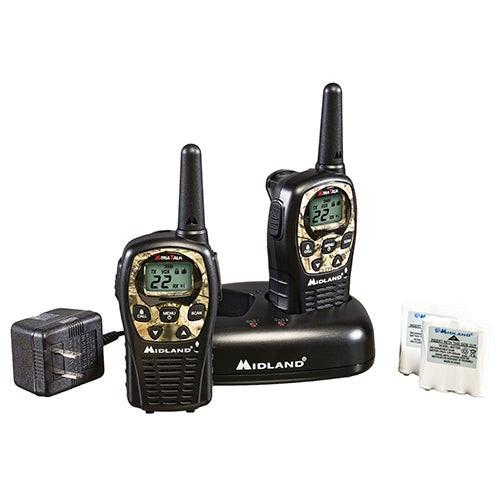 Pair of 22Ch 2-Way Radios w/ 24 Mile Range Mossy Oak Camo