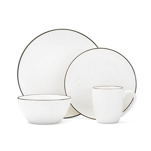 Gourmet Basics Juliana Cream 16pc Dinnerware Set