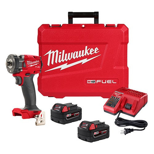 """M18 FUEL 3/8"""" Compact Impact Wrench w/ Friction Ring Kit"""