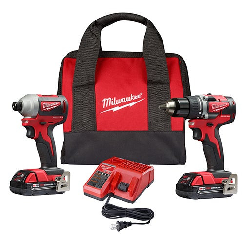 M18 Compact Brushless Drill/Driver & Impact Driver Kit