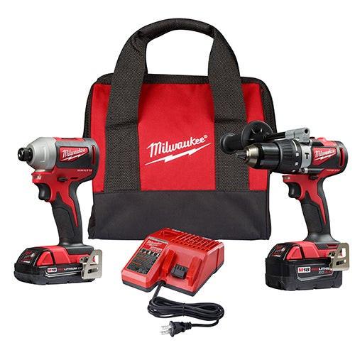 M18 Brushless 2-Tool Combo Kit - Hammer Drill/Impact Driver