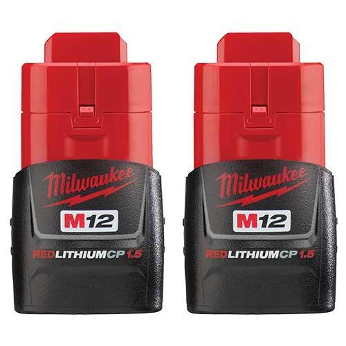 M12 REDLITHIUM Battery 2-Pack