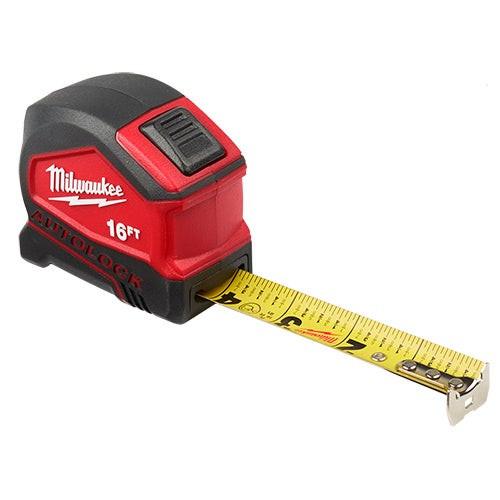 5 M/16ft Compact Auto Lock Tape Measure