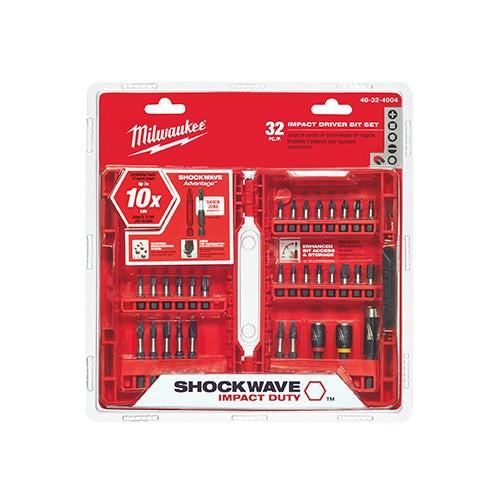 32pc Shockwave Driver Bit Set