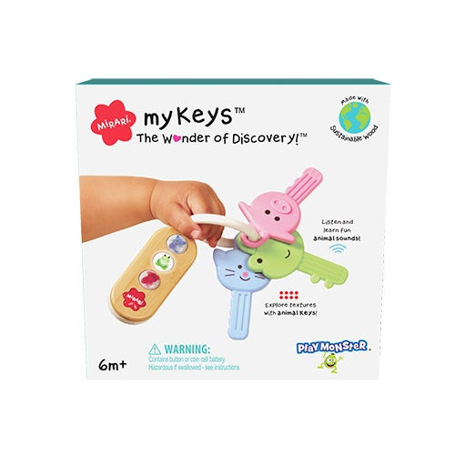 myKeys Baby Toy Ages 6+ Months