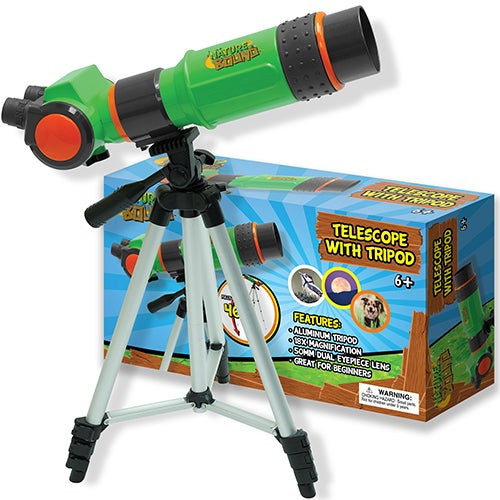 Telescope with Tripod for Kids Ages 6+ Years
