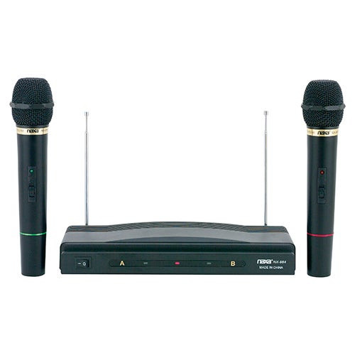 Pro Dual Wireless Mic Kit