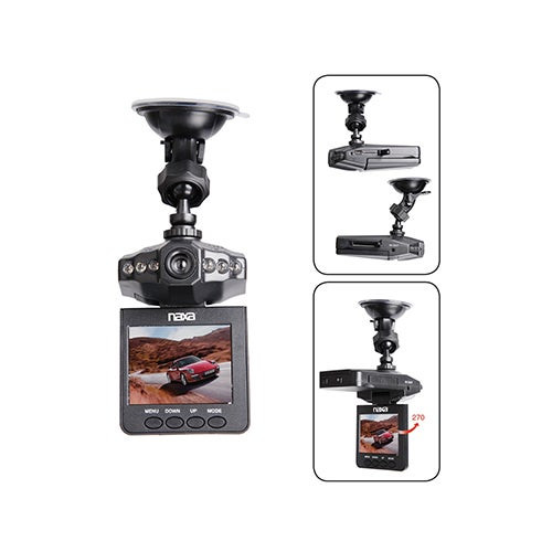 "Portable HD Dash Cam w/ 2.5"" LCD Monitor"