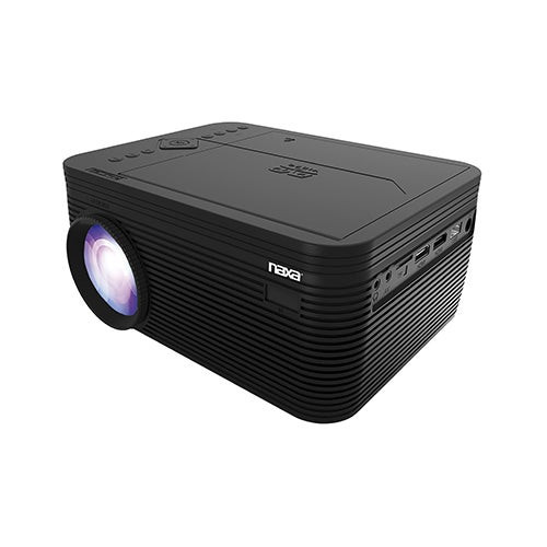 """150"""" Home Theater 720P LCD Projector w/ DVD Player"""