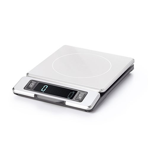 Good Grips 11lb Staineless Steel Digital Food Scale w/ Pull Out Display