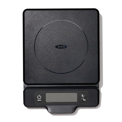 Good Grips 5lb Food Scale w/ Pull-Out Display Black