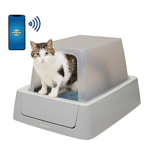 ScoopFree Smart Self-Cleaning Litter Box w/ Cover