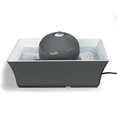Drinkwell Seascape Pet Fountain Gray