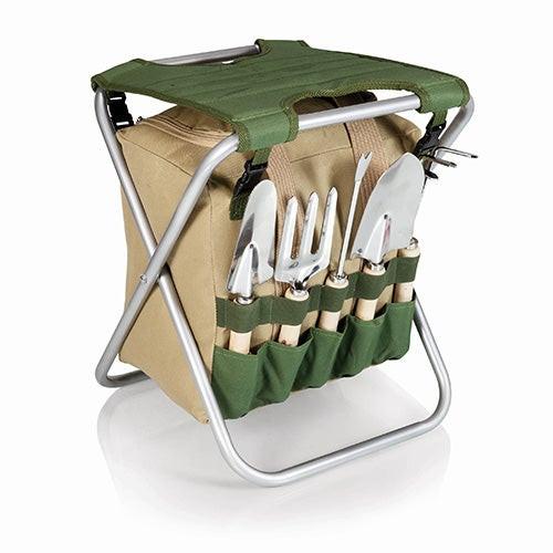 Oniva Gardener Seat & 5pc Tool Set