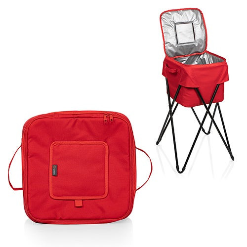 Oniva Camping Party Cooler w/ Stand Red