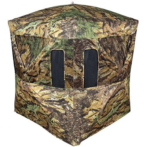 Smokescreen Ground Blind w/ Ground Swat Camouflage