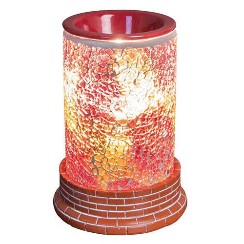 Hearts of Fire Mosaic Halogen Wax Melter