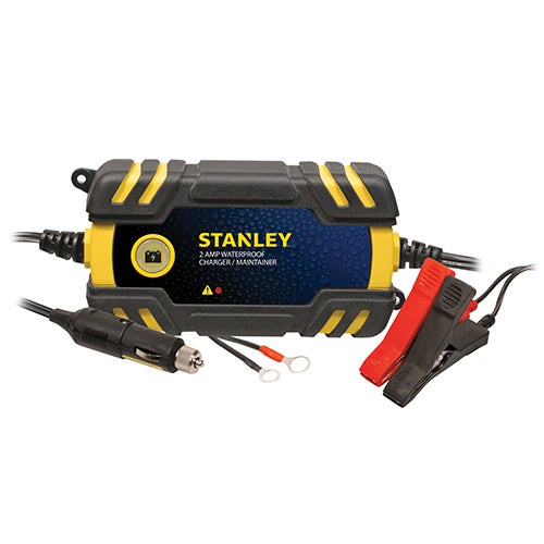 Waterproof 2 Amp Battery Maintainer/Charger