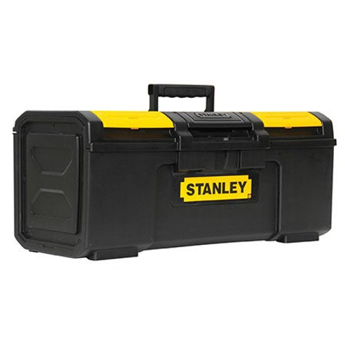 """24"""" One Touch Plastic Latch Tool Box"""